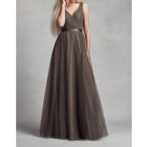 Long bridesmaid dress (worn once)